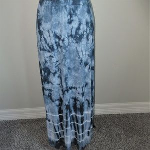 NEW Tryst By Mathew H. Maxi Tie Dye Skirt